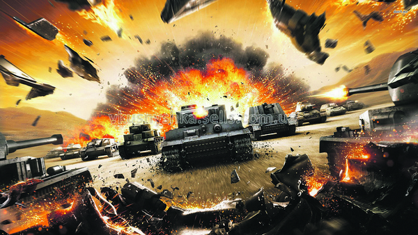 World of Tanks р-р 20х29см