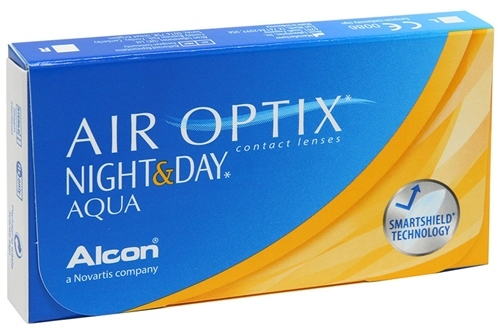 Линзы Air Optix Night&Day Aqua (6 шт)