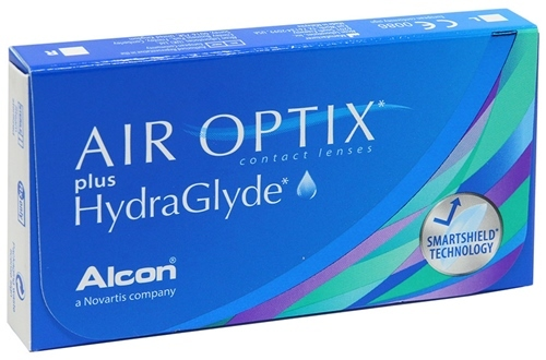Линзы Air Optix plus HydraGlyde (6 шт) АКЦИЯ!