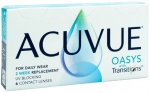 Линзы ACUVUE OASYS with Transitions (6 + 6 шт) НОВИНКА!