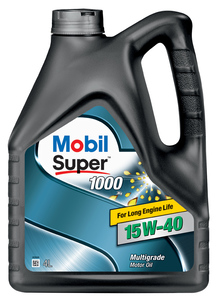 Моторное масло Mobil Super 1000 X1 15W-40 4л