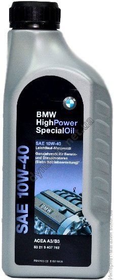 Моторное масло BMW High Special 10W-40 1л