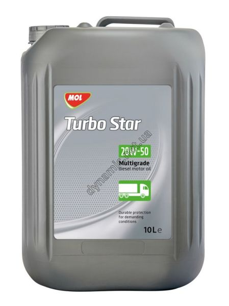 Моторное масло MOL Turbo Star 20W-50