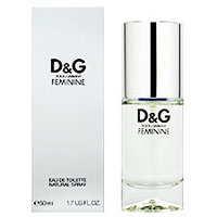 Dolce & Gabbana FEMININE For Woman EDP 100 ML NEW ЛИЦЕНЗИЯ