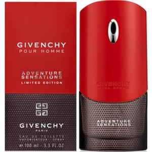 Givenchy Pour Homme Adventure Sensations For Man EDT 100 ML ЛИЦЕНЗИЯ