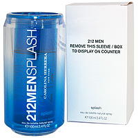 CAROLINA HERRERA 212 SPLASH For Man EDT 100 ML ЛИЦЕНЗИЯ