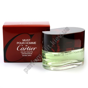 CARTIER MUST Pour Homme de Cartier edt 100 ml лицензия