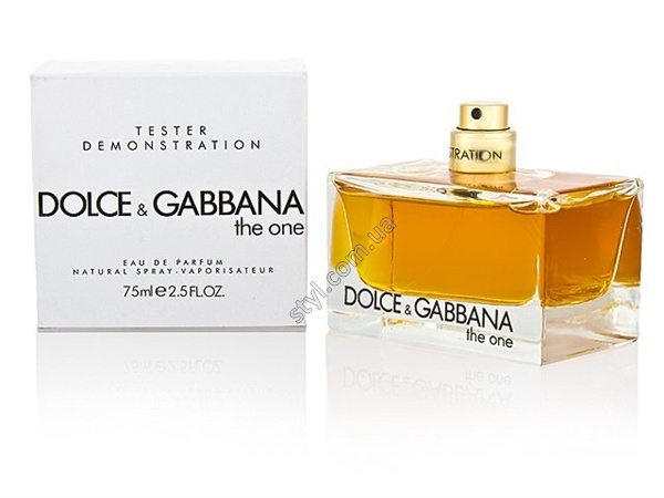 Dolce & Gabbana The One For Woman EDP 75 ml оригинал тестер