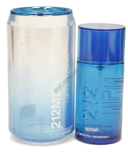 CAROLINA HERRERA 212 SPLASH For Man EDT 100 ML лицензия - без коробки