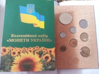 Annual collection of Coins of Ukraine NBU 15 years of Independence of Ukraine 2006