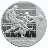 Soccer world championship 2006 silver coin 10 uah 2004