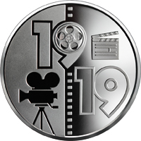 100 years of the Odessa Film Studio coin 5 UAH 2019