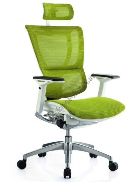 Кресло Mirus IOO white-green Comfort Seating