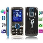 Nokia 5130 Xpress Music (Blue) TV (SECAM / PAL / NTSC), 3 сим карты, Bluetooth, FM