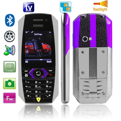Feppari F131 TV (Purple)