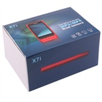Nokia X7i (Red) Dual SIM, Bluetooth, FM