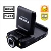 K2000 HDMI 1080P H.264 500MP Car DVR Car Black Box Car Camcorder Vehicle DVR (Black)