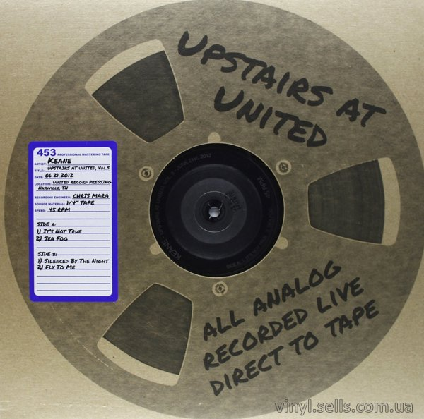 Keane - Upstairs at United, Vol. 5