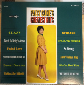 Patsy Cline ‎– Greatest Hits
