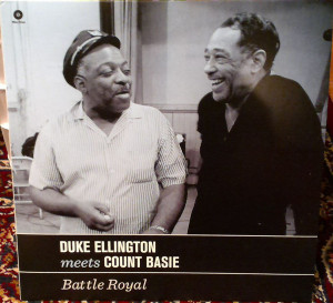 Duke Ellington And Count Basie ‎– Battle Royal