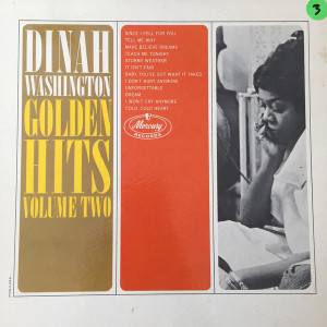Dinah Washington ‎– Golden Hits/Volume Two