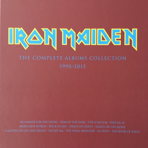 Iron Maiden The Complete Albums Collection - Complete Set  Vinyl Box Set