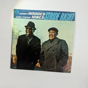 """Johnny Hodges, Earl """"Fatha"""" Hines – Stride Right"""