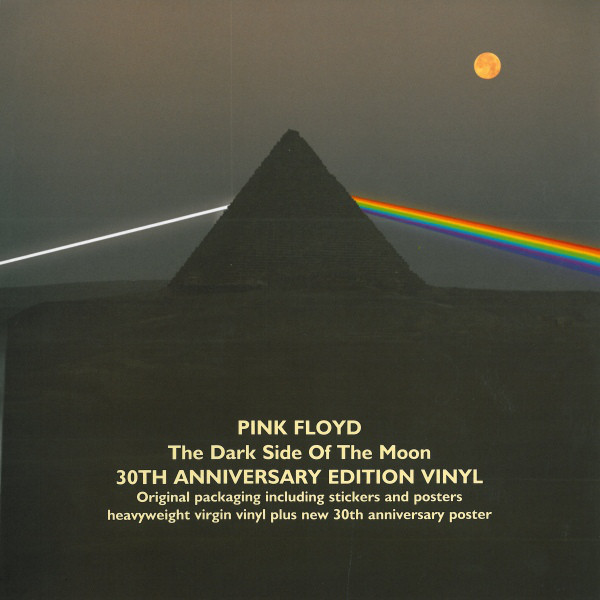 Pink Floyd – The Dark Side Of The Moon  30th Anniversary Edition