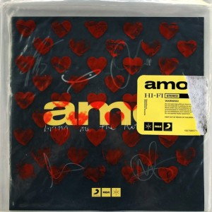 Bring Me The Horizon - Amo  'clear' exclusive signed version