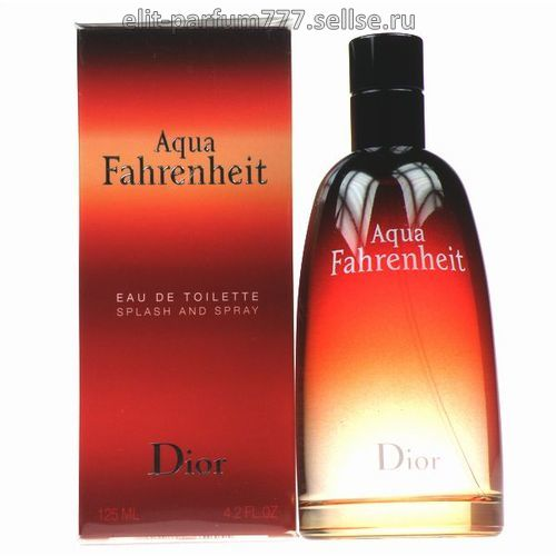 "Christian Dior ""Fahrenheit Aqua"" for men 100ml."