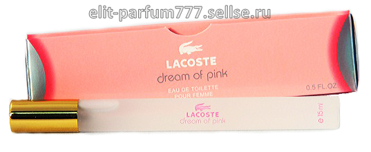 Lacoste Dream Of Pink (wom) 15ml