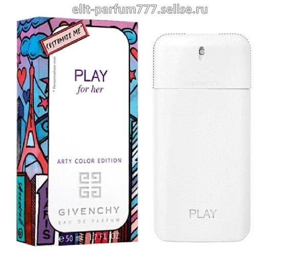GIVENCHY Play for Her COLOR EDITION wom 75ml