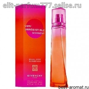 GIVENCHY Very irresistible soleil d'ete summer sun (т) wom 75 ml