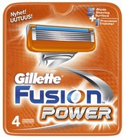 Gillette - Fusion Power 4шт